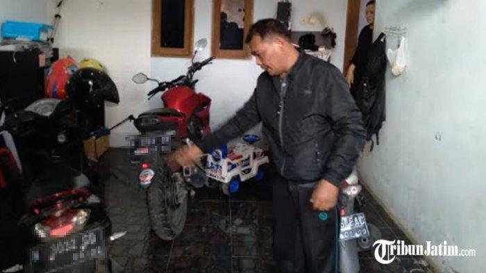 Tak Hanya Bawa Kabur Motor, Pencuri di Malang Ini Juga Aniaya Wanita Hamil