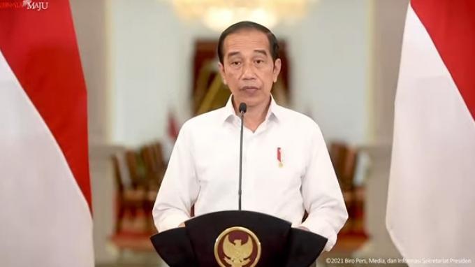 Jokowi: Alhamdulillah, BOR Nasional Turun Jadi 29 Persen Per Hari Ini
